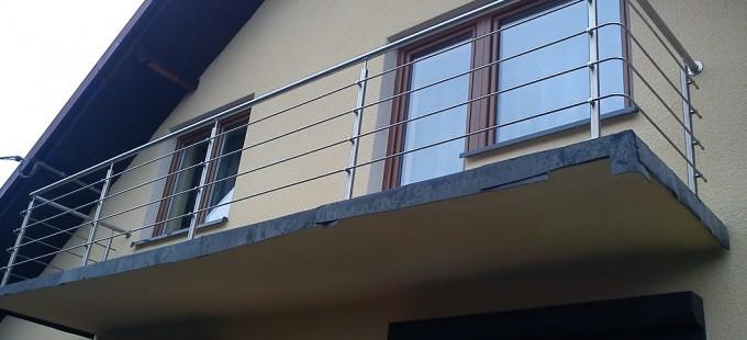 balustrada nierdzewna