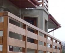 balustrady balkonowe sosnowe