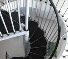 schody spiralne metalowe