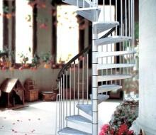 schody ocynkowane spiralne