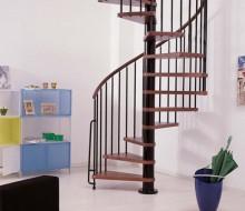 schody kręcone bukowe wewnętrzne