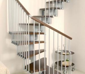 schody zabiegoe modułowe